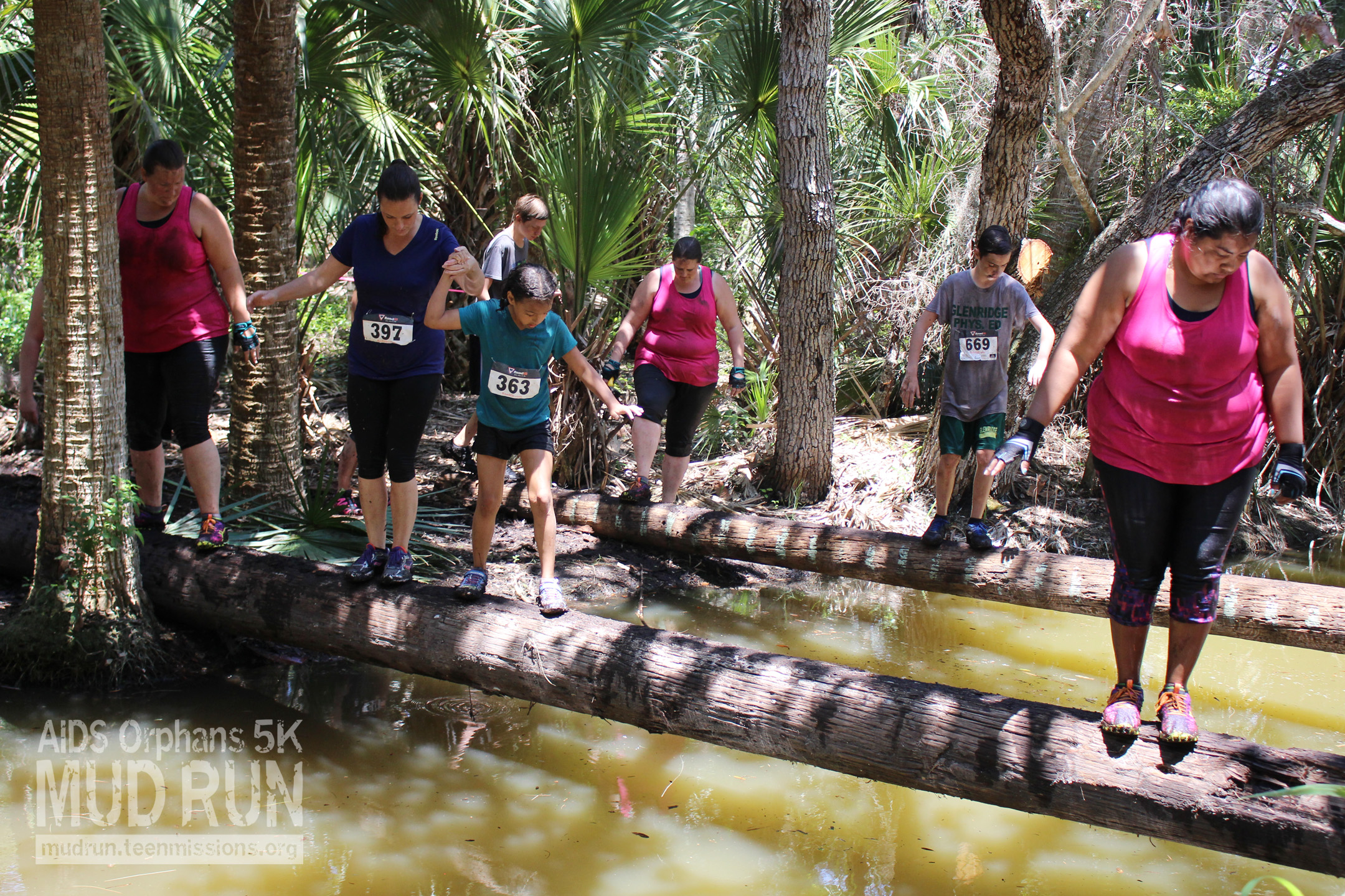 Obstacles Aids Orphans Mud Run